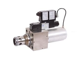 6300L/min válvula proporcional hidráulica 25 do cartucho da maneira da válvula MA-LIQZO-LES 2, 32