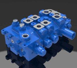 Multi - modo direcional hidráulica válvula 4 DP20GL-2 para guindastes