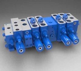 Plena carga sensível Multi - modo direcional de LTYB-G28L-5T do válvula hidráulica