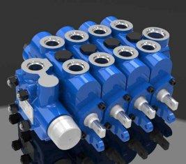 Engenharia Multi forma válvula de controle direcional hidráulica 4GCJX-G12L