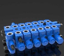 Multi - caminho hidráulico alívio combinação DL de válvula de controle direcional