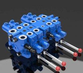Válvula de controle hidráulico seleção Multi direcional DLYS de mineração